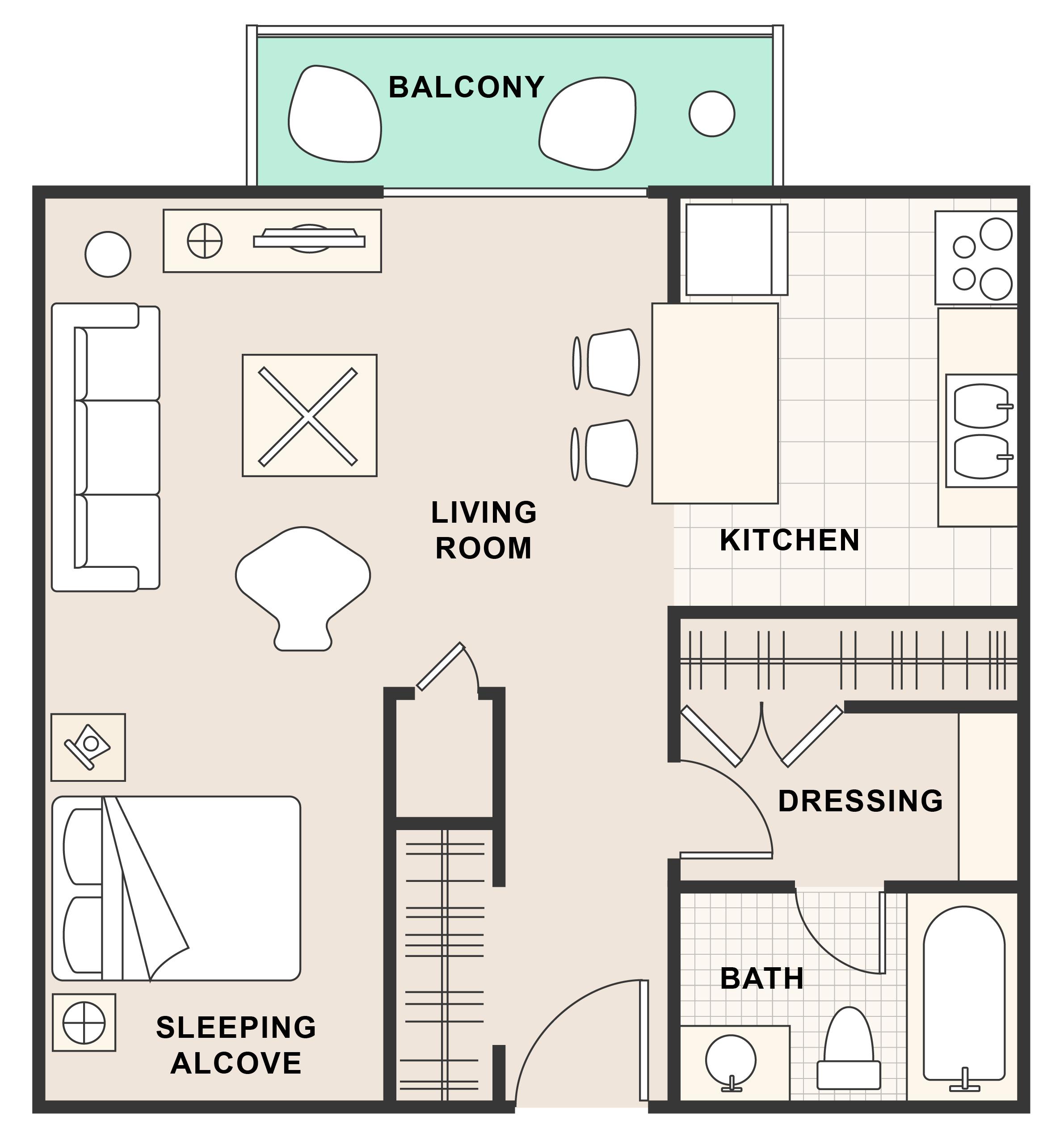 Oak Creek Apartments